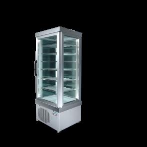 Vitrina verticala pentru produse congelate, capacitate 450 litri, temperatura de lucru -25°C/ -15°C, putere 750W