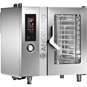 Cuptor electric mixt, nivelul 2, capacitate 10 tavi GN1/1, alimentare 380V, putere 17300W