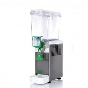 Distribuitor bauturi racoritoare, cu pompa submersibila, sistem gravitational de erogare, 1 grup, capacitate 8 litri, compresor ermetic, structura portanta din inox