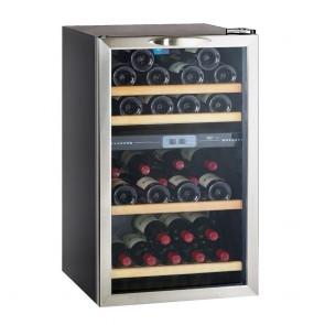 Vitrina pentru vinuri, capacitate 40 sticle 0.75l, clasa eficienta energetica C, putere 87W