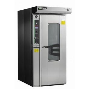 Cuptor rotativ, electric, putere instalata 24000W + 1500W, consum mediu orar 12000W.