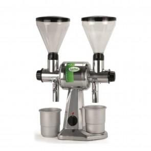 Masina dubla de macinat cafea/piper, din inox, productivitate orara 10kg cafea/piper, putere 750 W