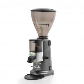 Masina automata de macinat cafea cu dozator si temporizator, corp inox, productivitate 6/8kg/ora, putere instalata: 350 W