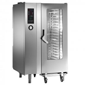 Cuptor electric mixt, nivelul 2, capacitate 20 tavi GN1/1, alimentare 380V, putere 34300W
