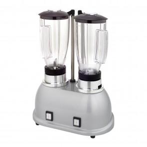 Blender dublu, cu pahare transparente din plastic 2x1,7 litri, motor cu 2 viteze, putere 800 W