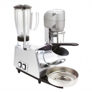 Aparat spart gheata-blender-mixer, pahar din plastic, capacitate 0,8 litri-mixer, 1,7 litri blender, alimentare 220V