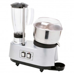 Grup multiplu: storcator citrice-blender, pahar blender din inox, capacitate 1,7 litri, putere 0,3+0.4kW