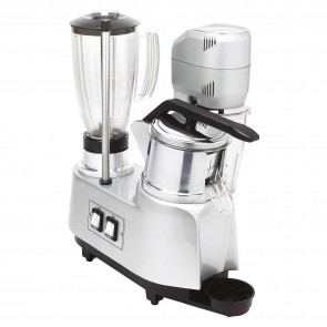 Grup multiplu: storcator citrice-blender-mixer, pahar mixer din plastic-capacitate 0,8 litri, pahar blender din plastic-capacitate 1,7 litri