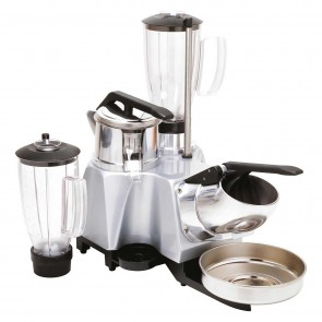 Grup multiplu: storcator citrice-aparat de spart gheata-blender, pahar blender din inox-capacitate 1,7 litri ( +1 pahar mixer)