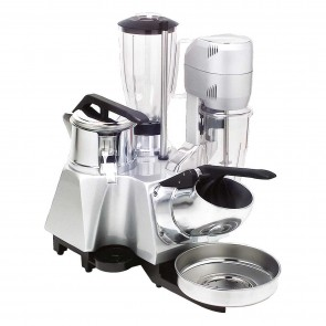 Grup multiplu: storcator citrice-aparat de spart gheata-blender-mixer, pahar mixer din plastic-capacitate 0,8 litri, pahar blender din plastic-capacitate 1,7 litri