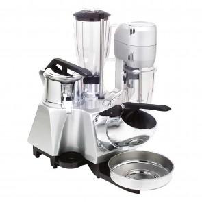 Grup multiplu: storcator citrice-aparat de spart gheata-blender-mixer, pahar mixer din inox-capacitate 0,8 litri, pahar blender din inox-capacitate 1,7 litri