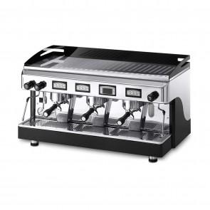 Espressor electronic cu display, cu 3 grupuri, capacitate boiler 17 litri, alimentare 220/380V, putere  5300/5770W, culoare negru
