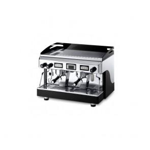 Espressor electronic cu display, cu 2 grupuri, capacitate boiler 10.5 litri, alimentare 220/380V, putere 3600/3920W, culoare negru