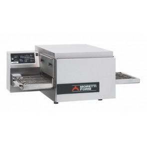 Cuptor pizza tip tunel, alimentare gaz, productivitate 25 pizza / ora, putere 9.9 kw, Moretti Forni