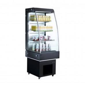 Vitrina refrigerata pentru expunere, capacitate 250 litri, temperatura de lucru 2°C/12°C, putere 650 W,