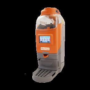 Storcator automat de citrice, display touchscreen, structura din materiale polimerice, productivitate 23 portocale/minut, putere 200W