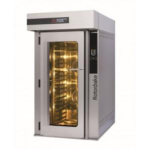 Cuptor electric rotativ, exterior din inox, panou electronic de comanda, putere maxima 25600W