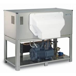 Masina fulgi de gheata, racire cu apa, productivitate:  2050-2350kg/24h, alimentare 380V, putere 13300W