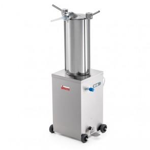 Sprit hidraulic vertical, capacitate 15 litri, lungime cilindru 495mm, alimentare 380V
