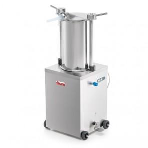 Sprit hidraulic vertical, capacitate 25 litri, lungime cilindru 460mm, alimentare 380V