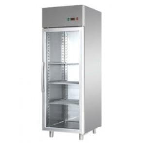 Dulap de congelare, cu o usa din sticla, capacitate 600 litri, temperatura de lucru -18°C/-20°C, putere absorbita 650W