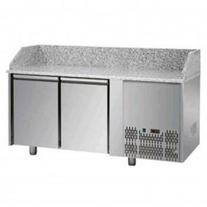 Banc de pizza, cu 2 usi, capacitate 310 litri, temperatura de lucru 0°C/+10°C