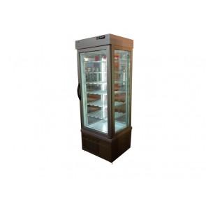 Vitrina verticala pentru produse congelate, capacitate 450 litri, temperatura de lucru -25°C/-15°C, putere 750W