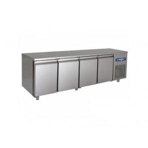Masa refrigerata pentru patiserie, cu 4 usi, capacitate 890 litri, putere 495W