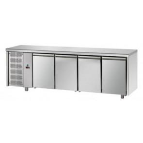 Masa refrigerata pentru patiserie, cu 4 usi, capacitate 890 litri,  temperatura de lucru 0°C/+10°C, putere 495W