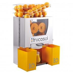 Storcator semi-automat pentru citrice, productivitate 20-25 portocale/minut, putere 150 W