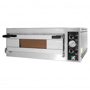 Cuptor electric pentru pizza, 1 camera, capacitate 4 pizza, alimentare 380V, putere 4800 W