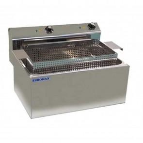 Friteuza pentru gogosi, capacitate 16 litri, putere 2x 3000 W