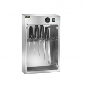 Sterilizator pentru cutite, capacitate 10 cutite, inox