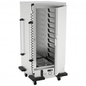 Carucior cald, capacitate 10 GN2/1, putere1750 W, inox