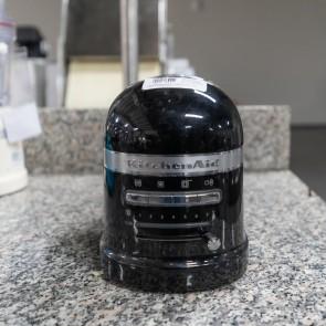 Prajitor de paine model Artisan, culoare neagra, pentru 2 felii, 7 nivele diferite de prajire, second hand