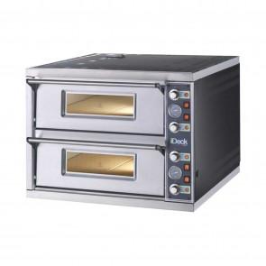 Cuptor electric pentru pizza, 2 camere, putere 8400 W