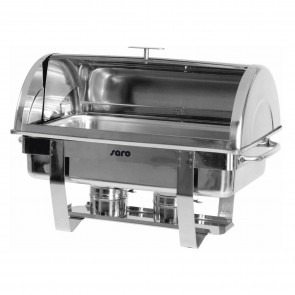 Chafing dish, GN1/1 -h100mm, capac rolltop, inox