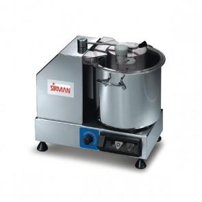 Cutter cu viteza variabila, capacitate 5.3 litri, putere 350W, inox